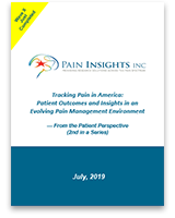 Tracking Pain in America report cover